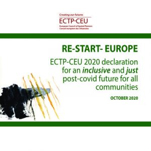Read more about the article ECTP-CEU RE-START EUROPE Manifesto : Declaration for an inclusive and just post-Covid future for all communities.